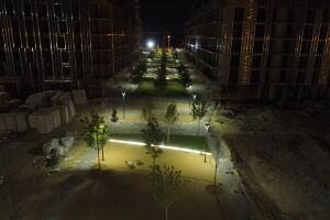 "Individual manufacture and supply of aluminum lighting poles of the residential complex ""Rybalsky"""