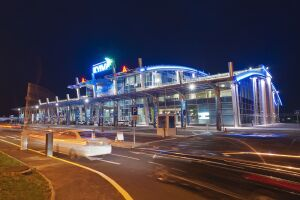 Airport Kiev (Zhulyany) Terminal A, design and delivery of lighting equipment